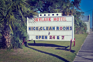 Deep South / Skylark Sign
