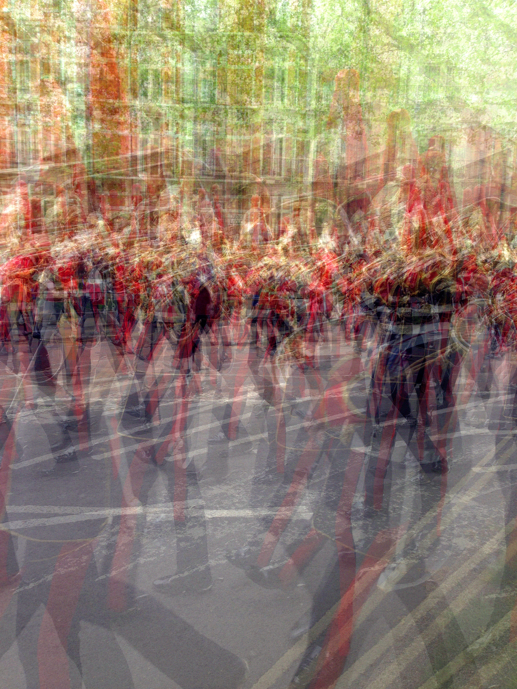 Multiple Exposure / Marching Band