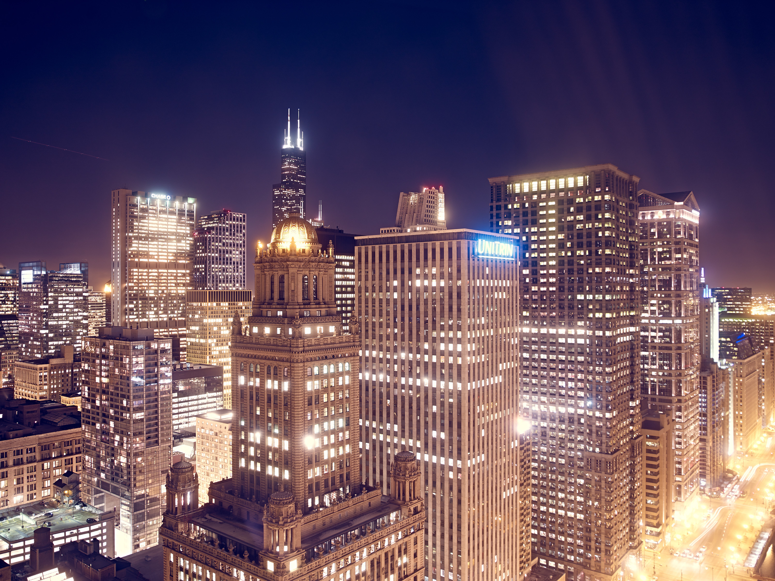 Nightscapes / Chicago Sears