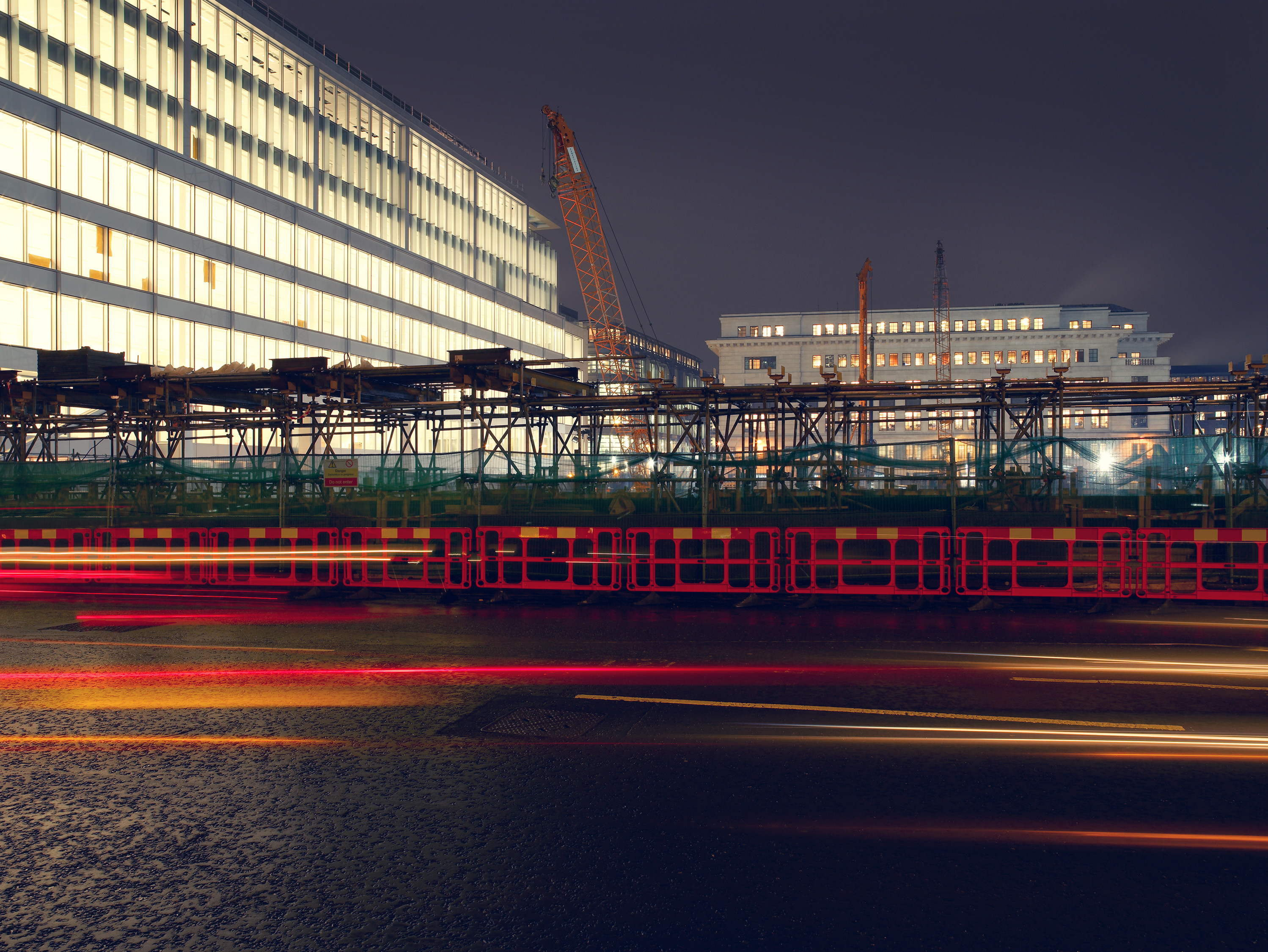 Nightscapes / Cheapside EC2