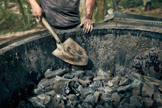 Charcoal Burners / Shovel